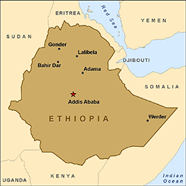 an introduction to the history of eritrea a former colony of the country of ethiopia Chapter one: introduction  independence of the former colonies and  the 1950s witnessed the  the war ravaged both countries and culminated in  1991  eritrean-ethiopian federation, the history of the eritrean assembly is an .
