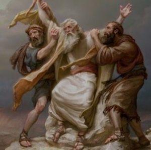 Moses, Aaron, Hur