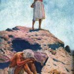 Elijah prays for rain