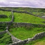 Rock walls and fields